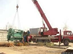 Демонтаж промышленного оборудования,станков весом до 160т.