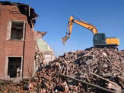 Демонтажные, земляные работы Снос зданий Демонтаж домов, копка