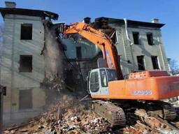 Демонтаж, снос сооружений, снос строений, услуги демонтажа,