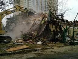 Демонтаж старого дома цена Одесса