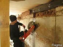 Демонтаж стен перегородок проемов усиление сварочные работы