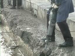 Демонтаж стен резка бетона алмазное бурение отверстий Одесса