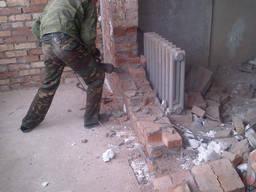 Демонтаж в квартирах, офисах, коттеджах. Подготовка к ремонт