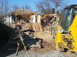 Демонтаж зданий, демонтаж сооружений, демонтаж конструкций.