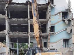 Демонтаж зданий и сооружений, вывоз мусора, утилизация