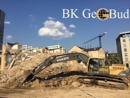 Демонтаж зданий Киев и область