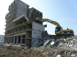 Демонтаж зданий металлоконструкций домов сооружений