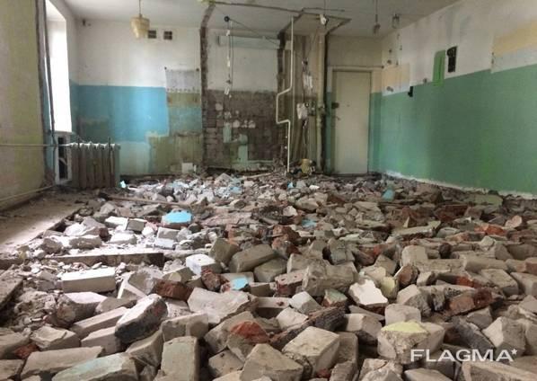 Демонтаж Зданий снос домов расчистка участков