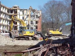 Демонтаж зданий, снос сооружений, демонтаж стен, фундаменту