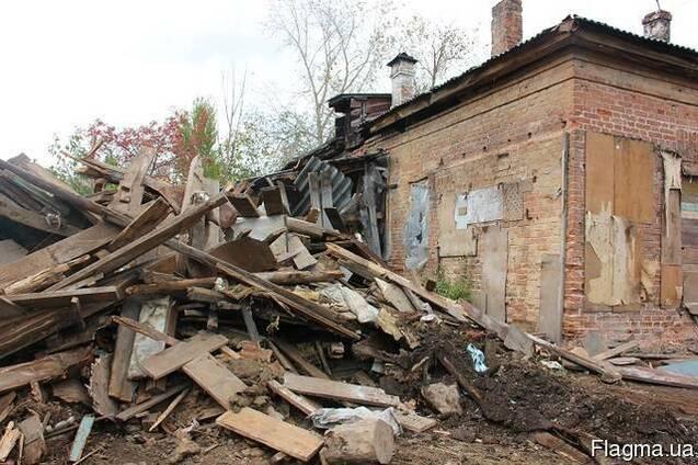 Демонтаж зданий сооружений