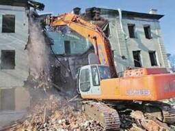Демонтаж зданий сооружений производственных помещений Киев
