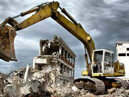 Демонтаж железобетонных конструкций