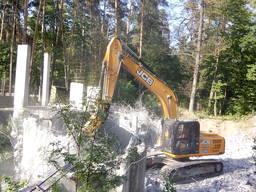 Демонтаж железобетонных конструкций в Киеве