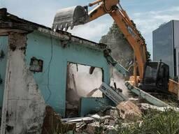Демонтажные работы Демонтаж Снос зданий Разобрать дом