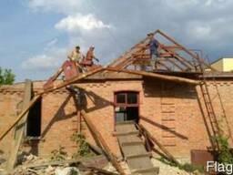 Демонтажные работы, демонтаж строений, стен, вывоз мусора