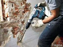 Демонтажные работы любой сложности: кафель, стены, проемы. .