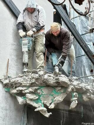 Демонтажные работы любой сложности разборка разрушение всех