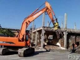 Демонтажные работы, снос строений Киев