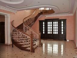 Лестницы деревянные, бетонные (лестница). Сходи, марші, ступ