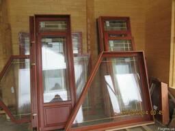 Деревяні вікна (євробрус)