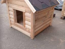 Деревянная будка для собак. Будка для собак