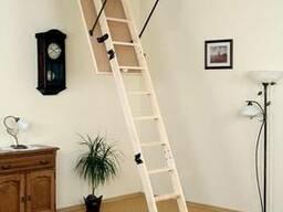 Деревянная чердачная лестница OMAN PRIMA 120х70 см