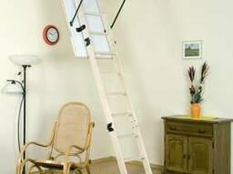Деревянная чердачная лестница Oman Termo S 120х70 см