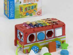 Деревянная игра Автобус С 39261 18 SKL11-219728