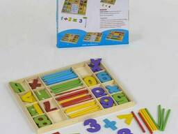 Деревянная игра Математика С 39309 120 SKL11-219752