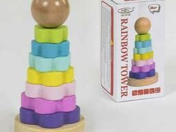 Деревянная игра Пирамидка С 39395 200 SKL11-219759