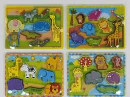 Деревянная игра Рамка-вкладыш С 39451 75 SKL11-219768