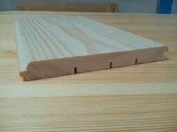 Деревянная имитация бруса первый сорт для наружной. ..