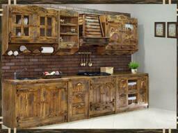 """Деревянная кухонная мебель для кухни """"Мелисса"""""""