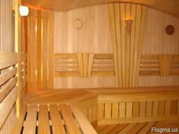 Деревянная обшивка сауны и бани