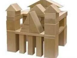 Деревянная пирамидка круглая или квадратная.Деревянная пирам