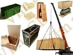 Деревянная тара, деревянные ящики