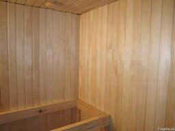 Деревянная вагонка для бани липа