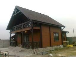 Деревянные дома из сухого профилированого бруса - фото 2