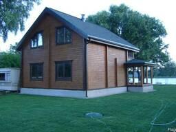 Деревянные дома из сухого профилированого бруса - фото 4