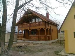Деревянные дома из сухого профилированого бруса - фото 5