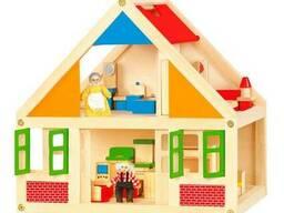 Деревянный игровой набор Viga Toys Кукольный домик (56254)