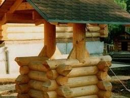 Деревянный колодец для сада К-7 Под заказ