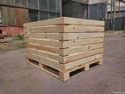 Деревянный контейнер для ябок
