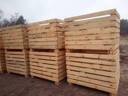 Деревянный контейнер, ящик