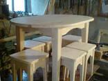Деревянный кухонный набор - фото 4