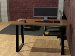 """Деревянный письменный стол """"""""ANA с металлическими ножками от производителя"""