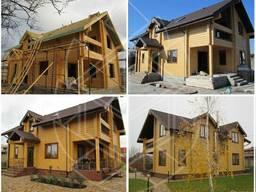 Деревянный современный дом (Популярный 179)