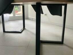 Деревянный стол N45 в стиле loft для кафе и ресторана