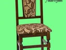 Деревянный стул для кафе или дома Со шнурком