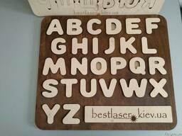 Деревянные азбуки